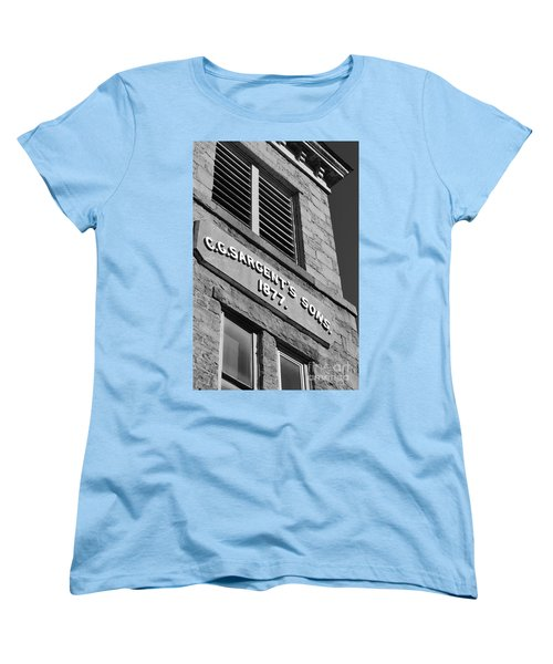 A Piece Of History Women's T-Shirt (Standard Cut) by Barbara Bardzik