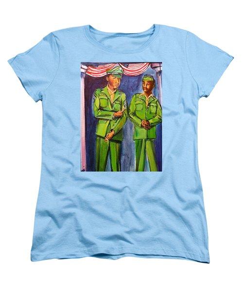 Daddy Soldier Women's T-Shirt (Standard Cut) by Ecinja Art Works