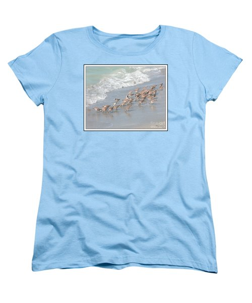 Women's T-Shirt (Standard Cut) featuring the photograph A Quick Bite by Mariarosa Rockefeller