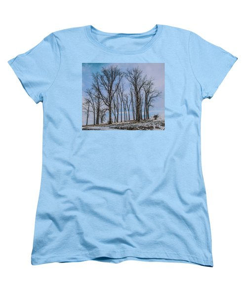 Women's T-Shirt (Standard Cut) featuring the photograph A Resting Place by Ray Congrove