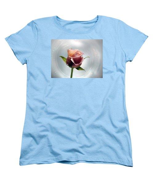 A Rose Women's T-Shirt (Standard Cut) by Lynn Bolt