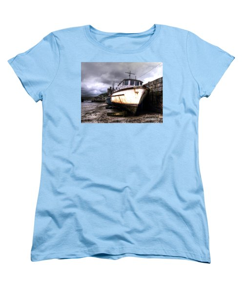 Women's T-Shirt (Standard Cut) featuring the photograph A Rough Ride by Doc Braham