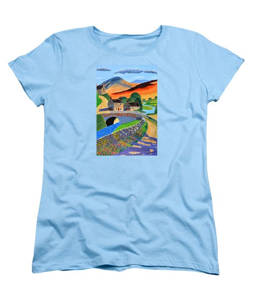 a Scottish highland lane Women's T-Shirt (Standard Cut)