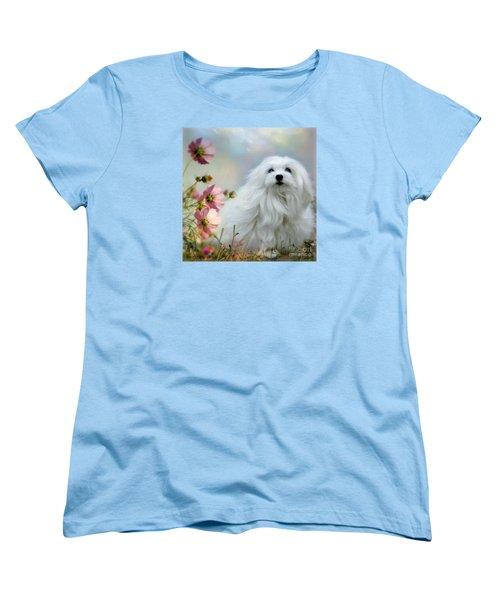 Women's T-Shirt (Standard Cut) featuring the photograph A Soft Summer Breeze by Morag Bates
