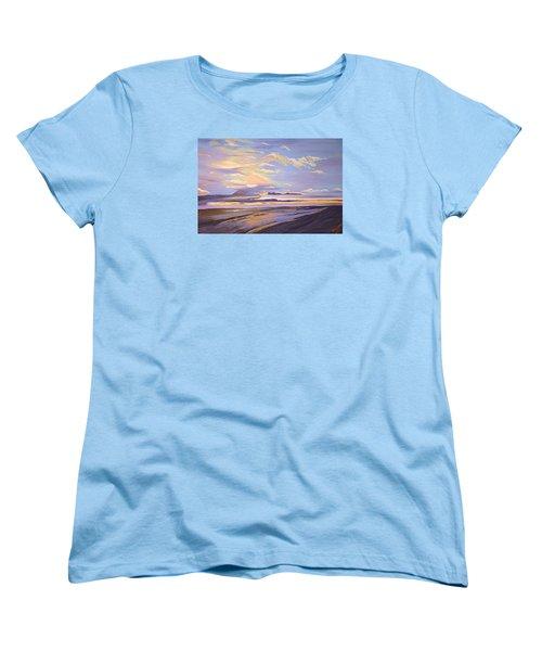 A South Facing Shore Women's T-Shirt (Standard Cut) by Donna Blossom