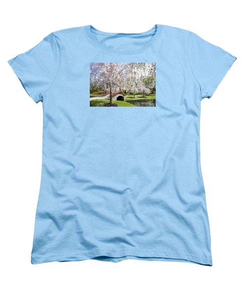 A Spring Walk Women's T-Shirt (Standard Cut) by Paul W Faust -  Impressions of Light