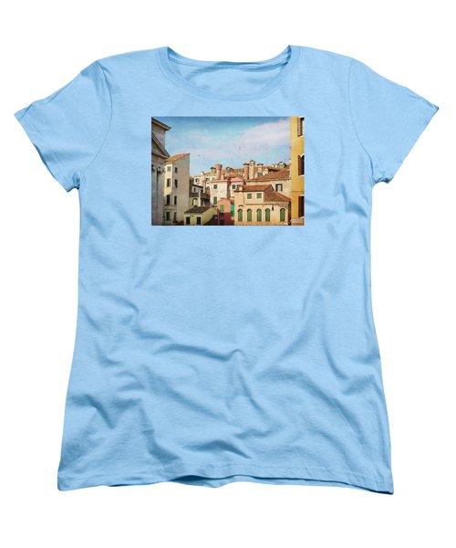 Women's T-Shirt (Standard Cut) featuring the photograph A Venetian View by Brooke T Ryan