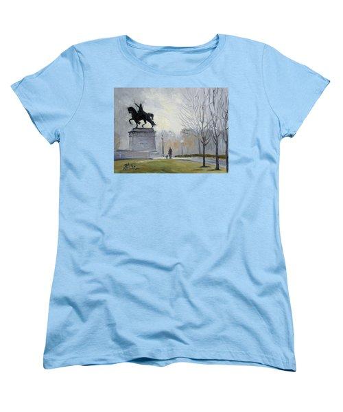 A Walk In Forest Park In St.louis Women's T-Shirt (Standard Cut)