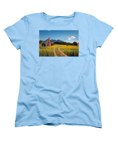 Abandoned Country Life Women's T-Shirt (Standard Cut) by Fred Larson