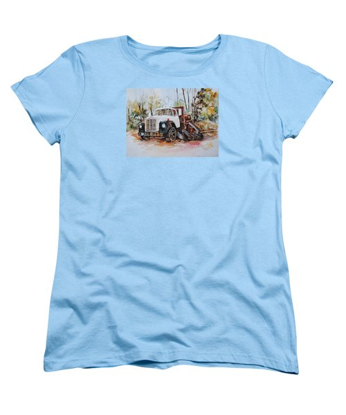 Abandoned Women's T-Shirt (Standard Cut) by P Anthony Visco