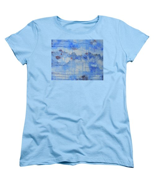Abstract # 3 Women's T-Shirt (Standard Cut) by Susan Williams