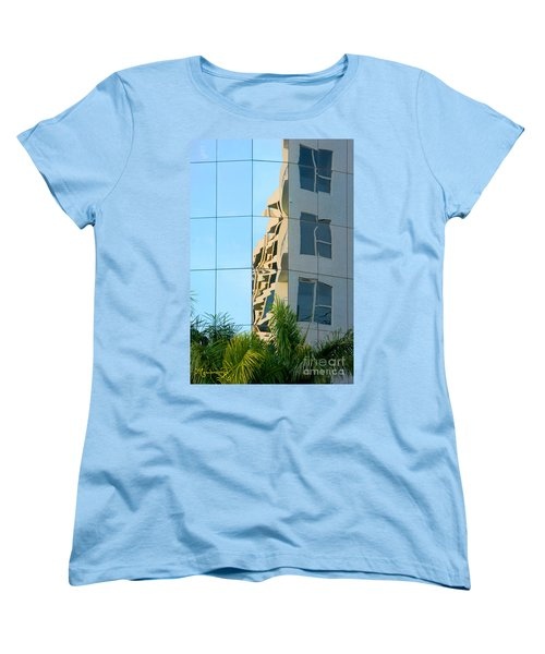 Abstract Architectural Shapes Women's T-Shirt (Standard Cut) by Mariarosa Rockefeller
