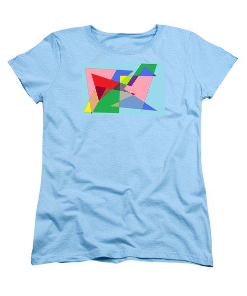 Abstract Women's T-Shirt (Standard Cut) by Ron Davidson
