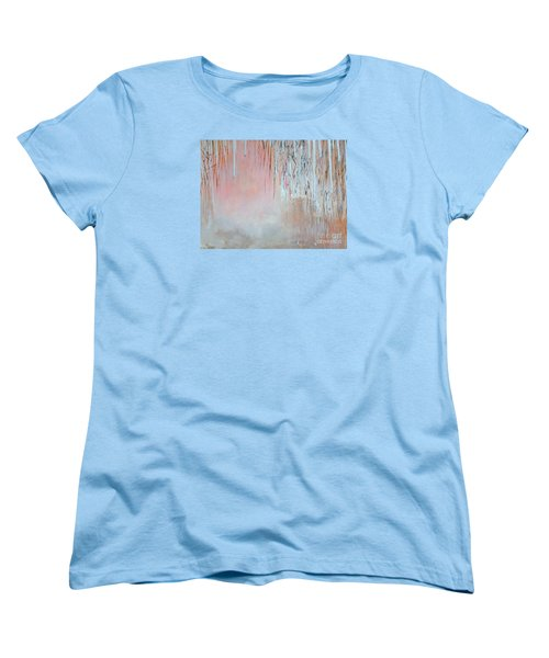 Abstract Spring Women's T-Shirt (Standard Cut) by Donna Dixon