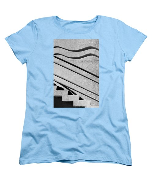 Abstract Stairs Women's T-Shirt (Standard Cut)