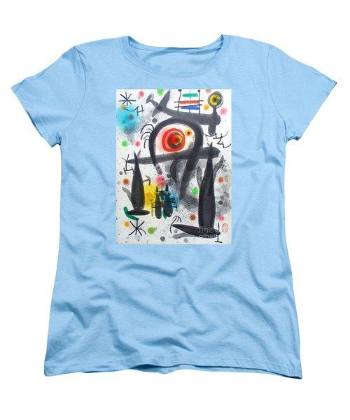 Acuatico Triunfo De La Imaginacion Women's T-Shirt (Standard Cut) by Roberto Prusso