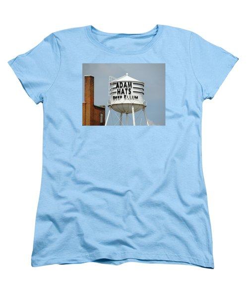 Women's T-Shirt (Standard Cut) featuring the photograph Adam Hats In Deep Ellum by Charlie and Norma Brock