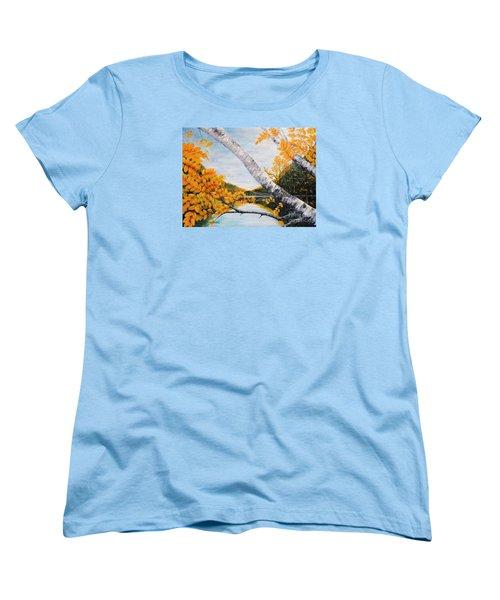 Adirondacks New York Women's T-Shirt (Standard Cut)