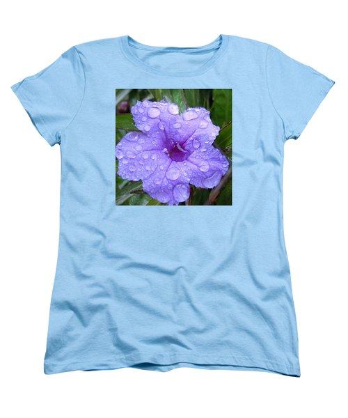 Women's T-Shirt (Standard Cut) featuring the photograph After The Rain #1 by Robert ONeil