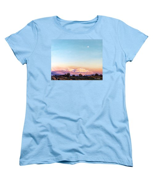 Women's T-Shirt (Standard Cut) featuring the painting After The Storm by Craig T Burgwardt