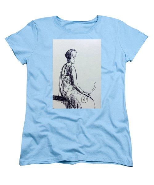 Afternoon Women's T-Shirt (Standard Cut) by Hae Kim