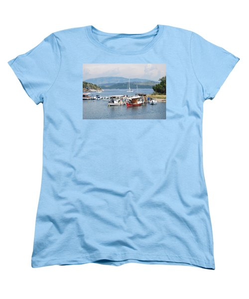 Agios Stefanos Women's T-Shirt (Standard Cut) by George Katechis
