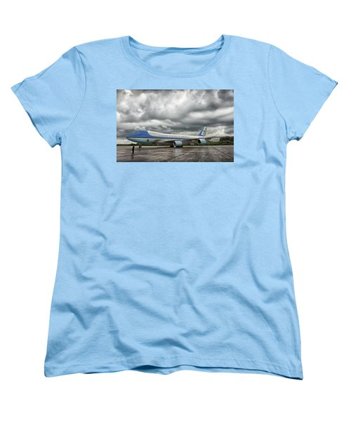 Air Force One Women's T-Shirt (Standard Cut) by Mountain Dreams