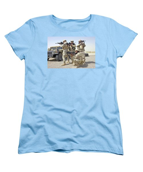 Women's T-Shirt (Standard Cut) featuring the photograph Air Force Squadron by Science Source