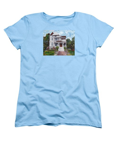 Alameda 1897 - Queen Anne Women's T-Shirt (Standard Cut) by Linda Weinstock