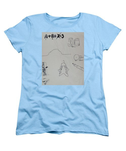 Algebra Women's T-Shirt (Standard Cut) by Erika Chamberlin