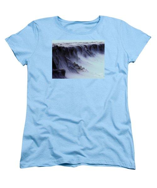Alien Landscape The Aftermath Part 2 Women's T-Shirt (Standard Cut) by Blair Stuart
