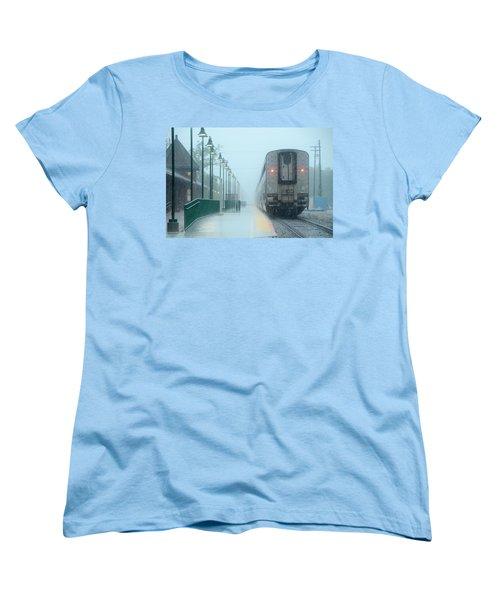 All Aboard Women's T-Shirt (Standard Cut) by Charlotte Schafer