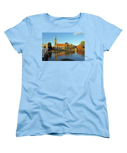 All Saints Church Marlow Women's T-Shirt (Standard Cut) by Tony Murtagh