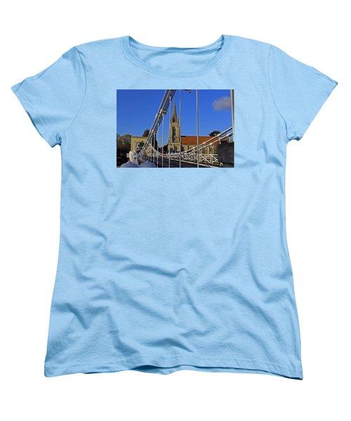 All Saints Church Women's T-Shirt (Standard Cut) by Tony Murtagh