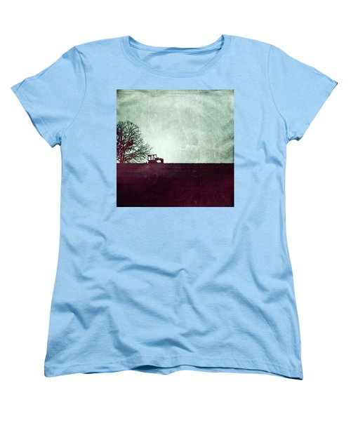 All That's Left Behind Women's T-Shirt (Standard Cut) by Trish Mistric