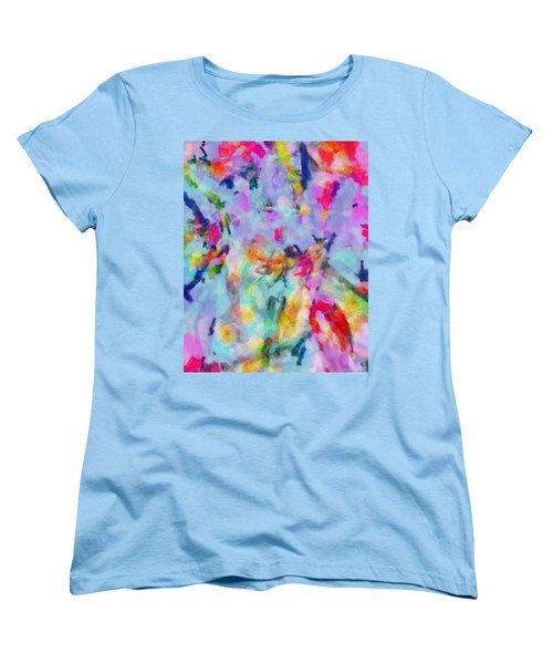 Women's T-Shirt (Standard Cut) featuring the painting All Those Good Things by Joe Misrasi