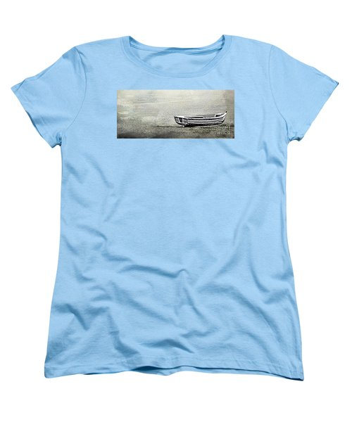 Women's T-Shirt (Standard Cut) featuring the photograph Alone by Linsey Williams