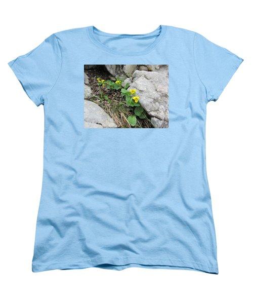 Women's T-Shirt (Standard Cut) featuring the photograph Alpine Beauty 1 by Pema Hou