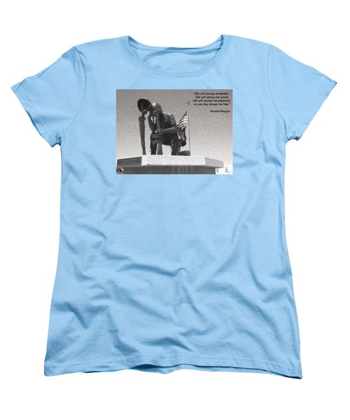 Women's T-Shirt (Standard Cut) featuring the photograph Always Remember by Glenn McCarthy Art and Photography