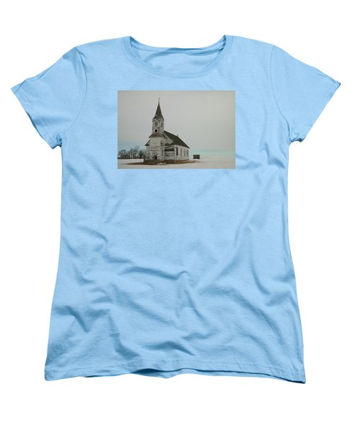 Amazing Grace In North Dakota Women's T-Shirt (Standard Cut) by Jeff Swan