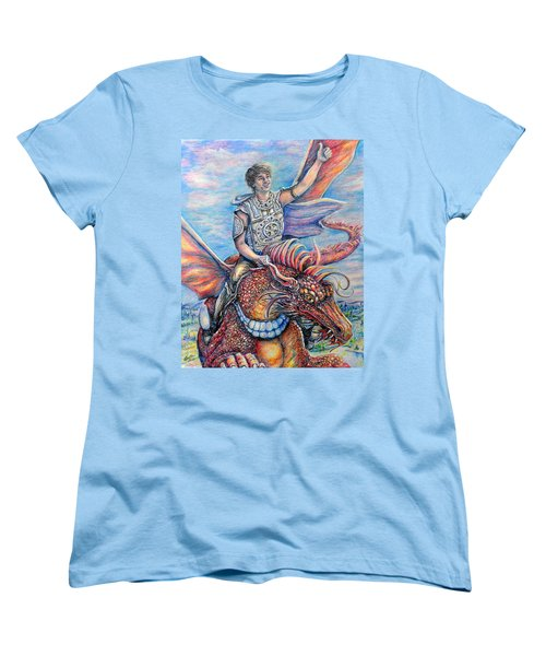 Amazing Rider Women's T-Shirt (Standard Cut) by Gail Butler