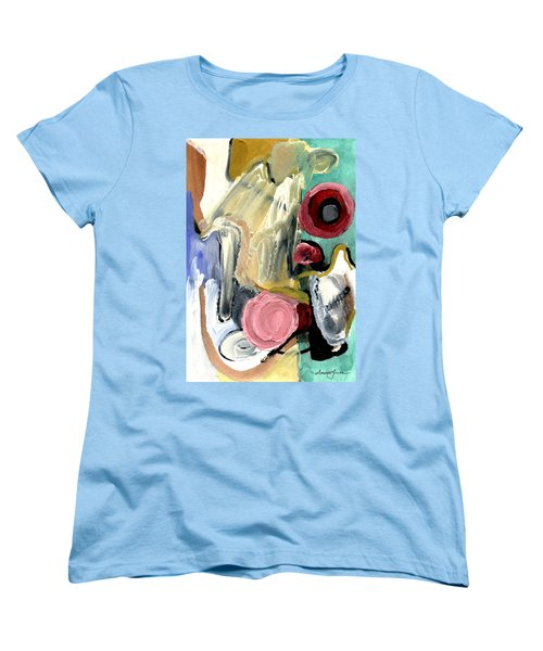 Women's T-Shirt (Standard Cut) featuring the painting American Beauty by Stephen Lucas