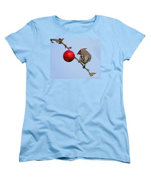 An Apple A Day... Women's T-Shirt (Standard Cut) by Torbjorn Swenelius