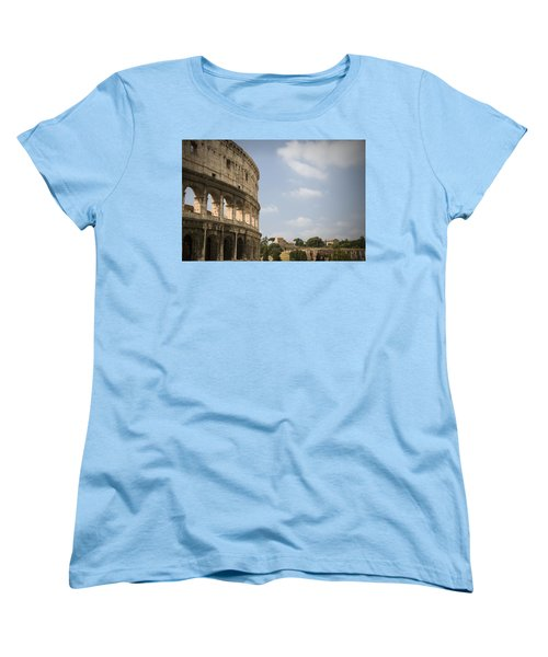 Ancient Colosseum Women's T-Shirt (Standard Cut) by Jeremy Voisey
