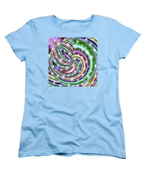 Women's T-Shirt (Standard Cut) featuring the digital art And He Called Them Stars by Luther Fine Art