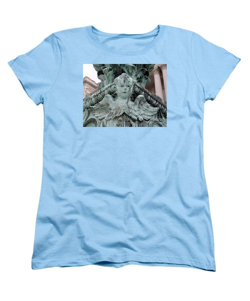 Women's T-Shirt (Standard Cut) featuring the photograph Angel Wings by Ed Weidman