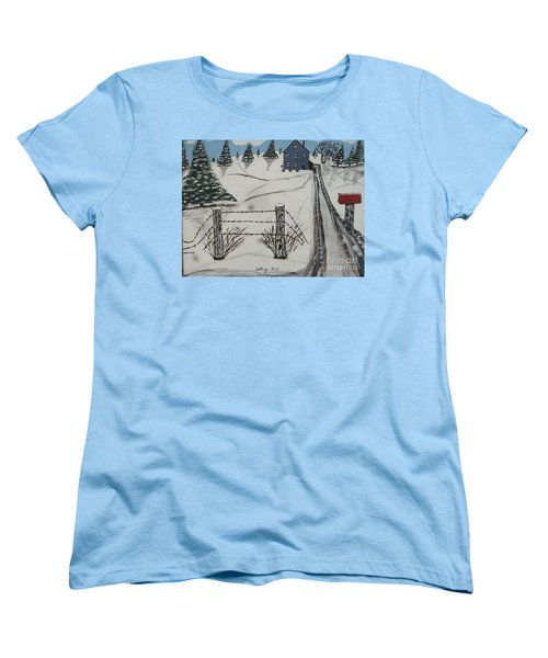 Anna Koss Farm Women's T-Shirt (Standard Cut) by Jeffrey Koss
