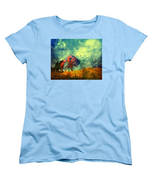 Women's T-Shirt (Standard Cut) featuring the painting Another Chance by Joe Misrasi