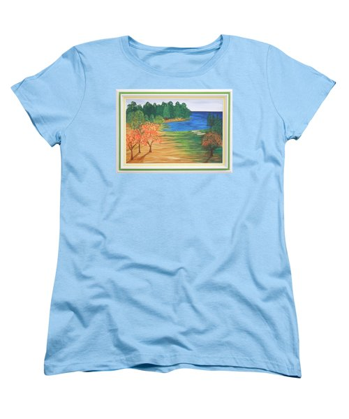 Another Sunday Morning Women's T-Shirt (Standard Cut) by Ron Davidson