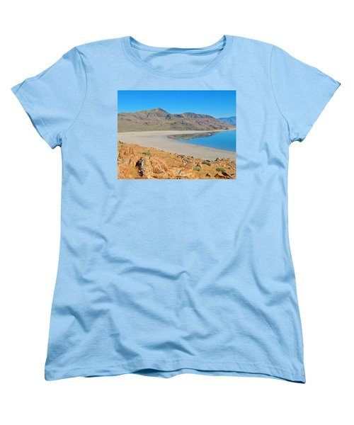 Antelope Island Women's T-Shirt (Standard Cut) by Dan Miller